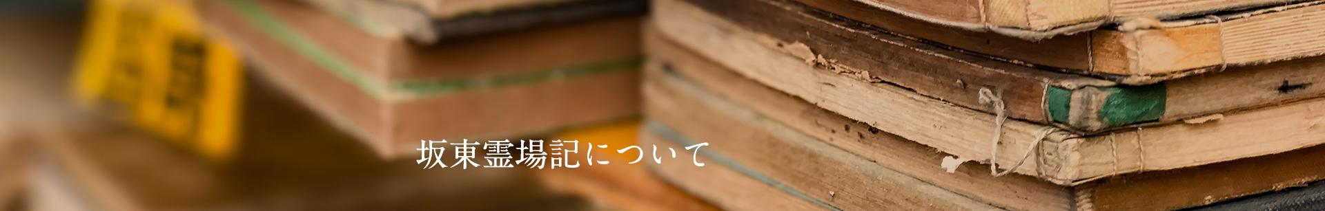 坂東霊場記について